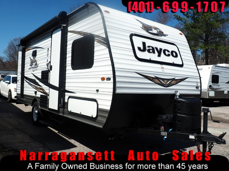 2019 Jayco Jay Flight 17' Camper Front Queen Rear Bunks Full Bath