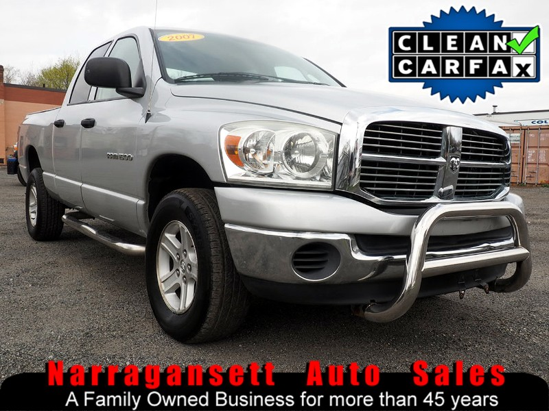 2007 Dodge Ram 1500 4X4 Quad Cab V-8 Auto Air Full Power Super Clean