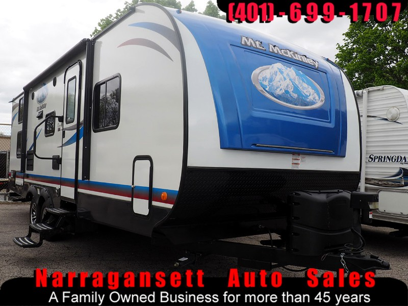 2019 Riverside RV 26DBSPE Mt McKinley 26' Super Slide-Out Rear Bunks