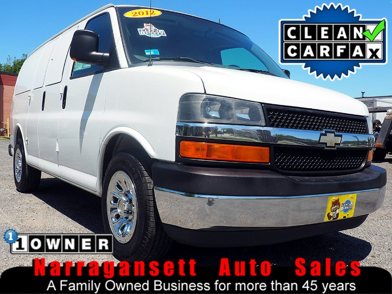 2012 Chevrolet Express 1500 Cargo Van Auto Air Full Power 1-Owner