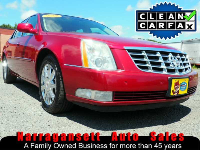 2008 Cadillac DTS Leather Moonroof NAV Chrome Wheels 114K