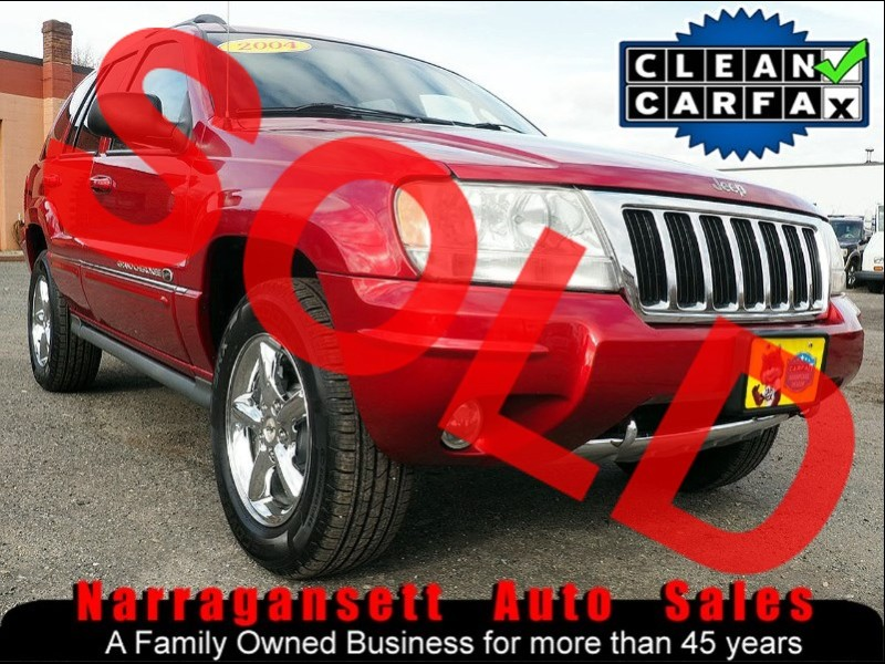 2004 Jeep Grand Cherokee Overland V-8 Leather Moonroof 119K Super Clean