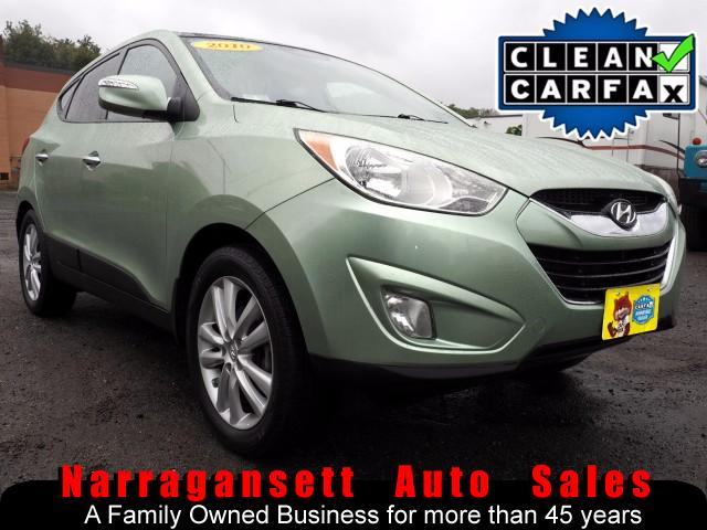 2010 Hyundai Tucson Limited AWD Auto Leather Navigation Panoramic