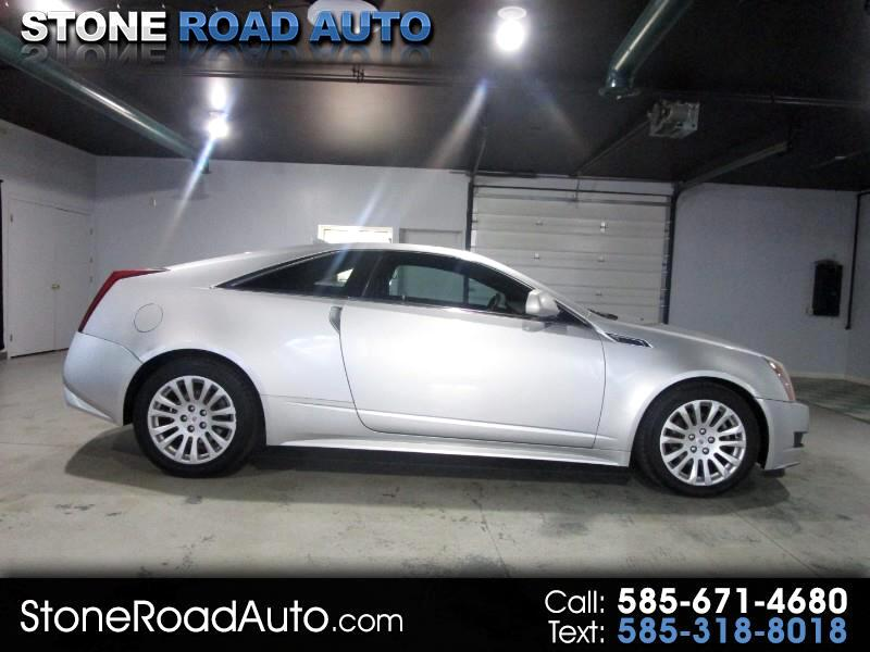 2012 Cadillac CTS Base Coupe AWD