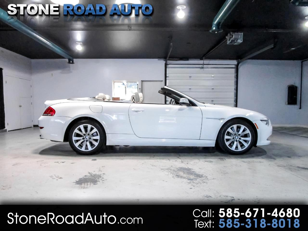 2010 BMW 6 Series 2dr Conv 650i
