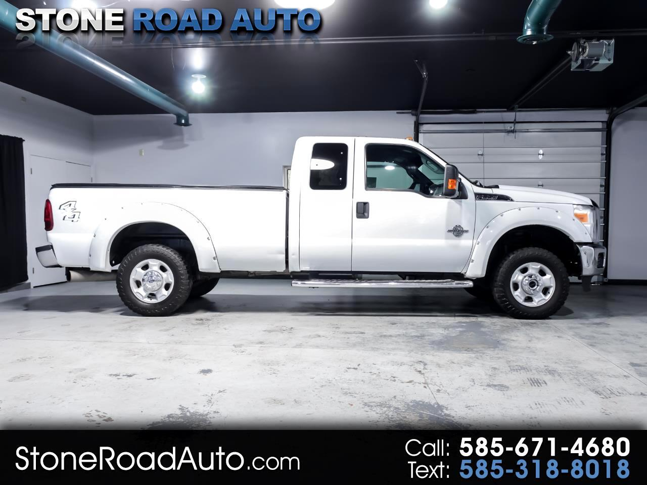 "Ford Super Duty F-250 SRW 4WD SuperCab 142"" XLT 2011"
