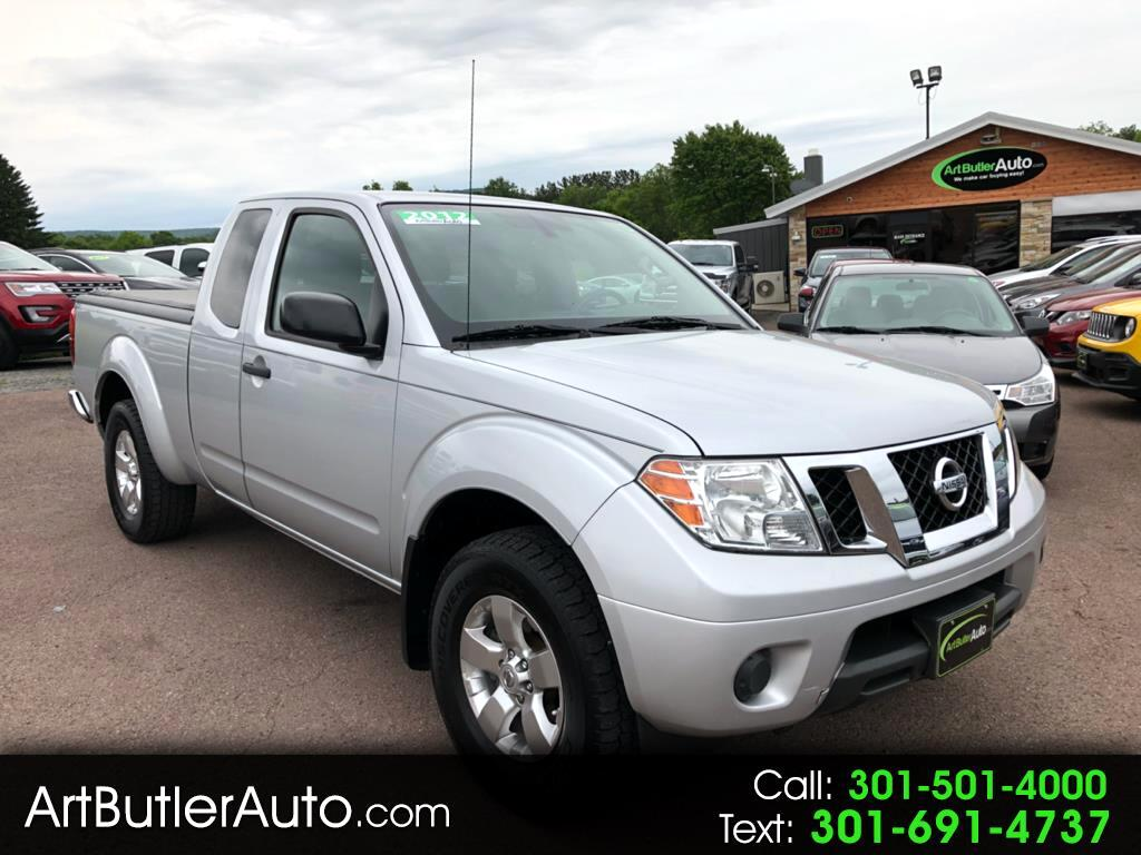 2012 Nissan Frontier 4WD King Cab Manual SV
