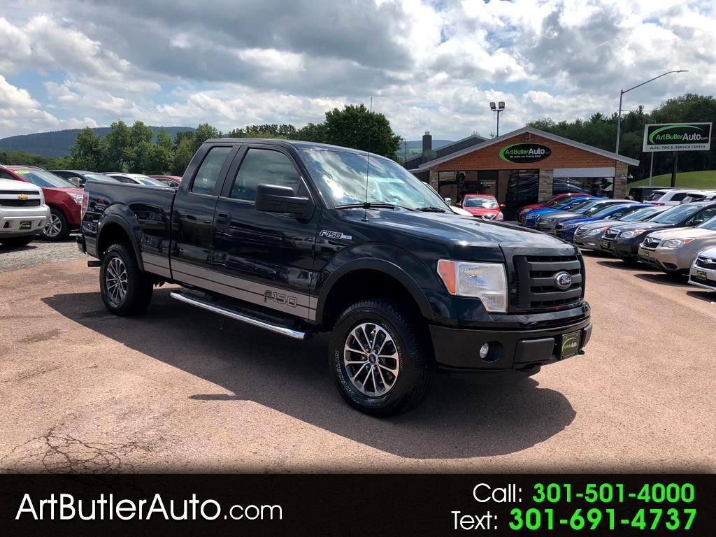 "2012 Ford F-150 4WD SuperCab 133"" STX"