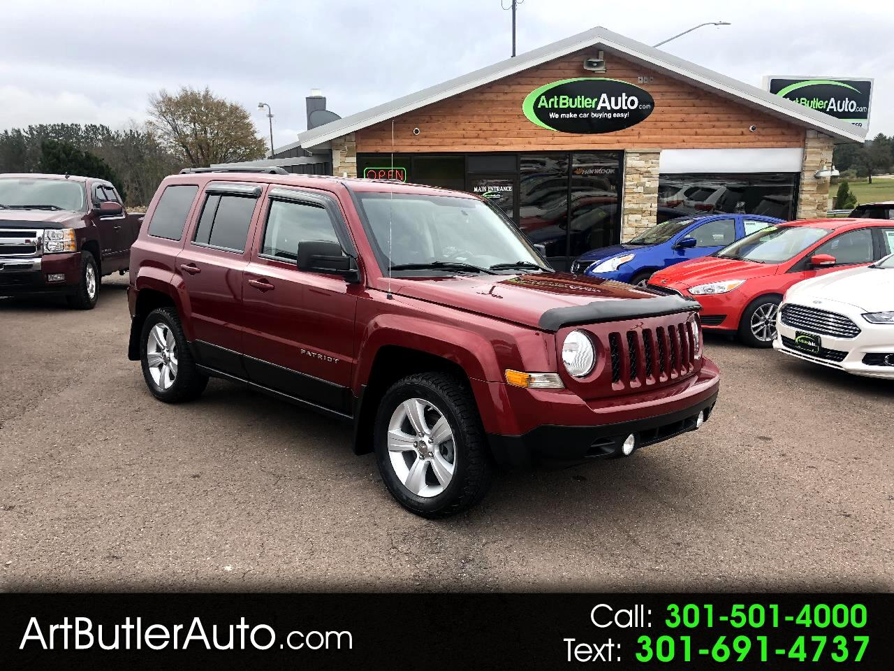 2012 Jeep Patriot 4WD 4dr Latitude