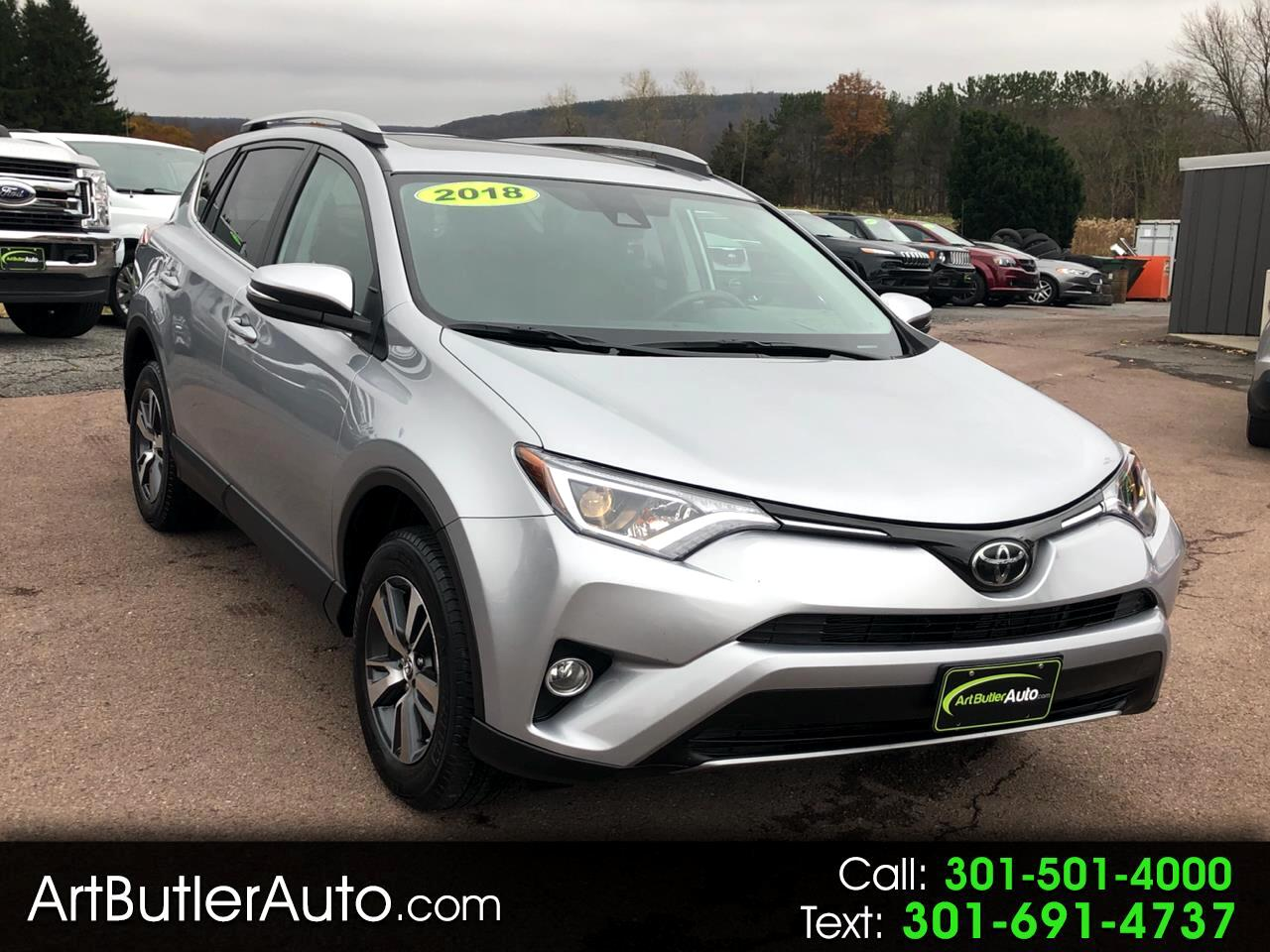 2018 Toyota RAV4 Adventure AWD (Natl)