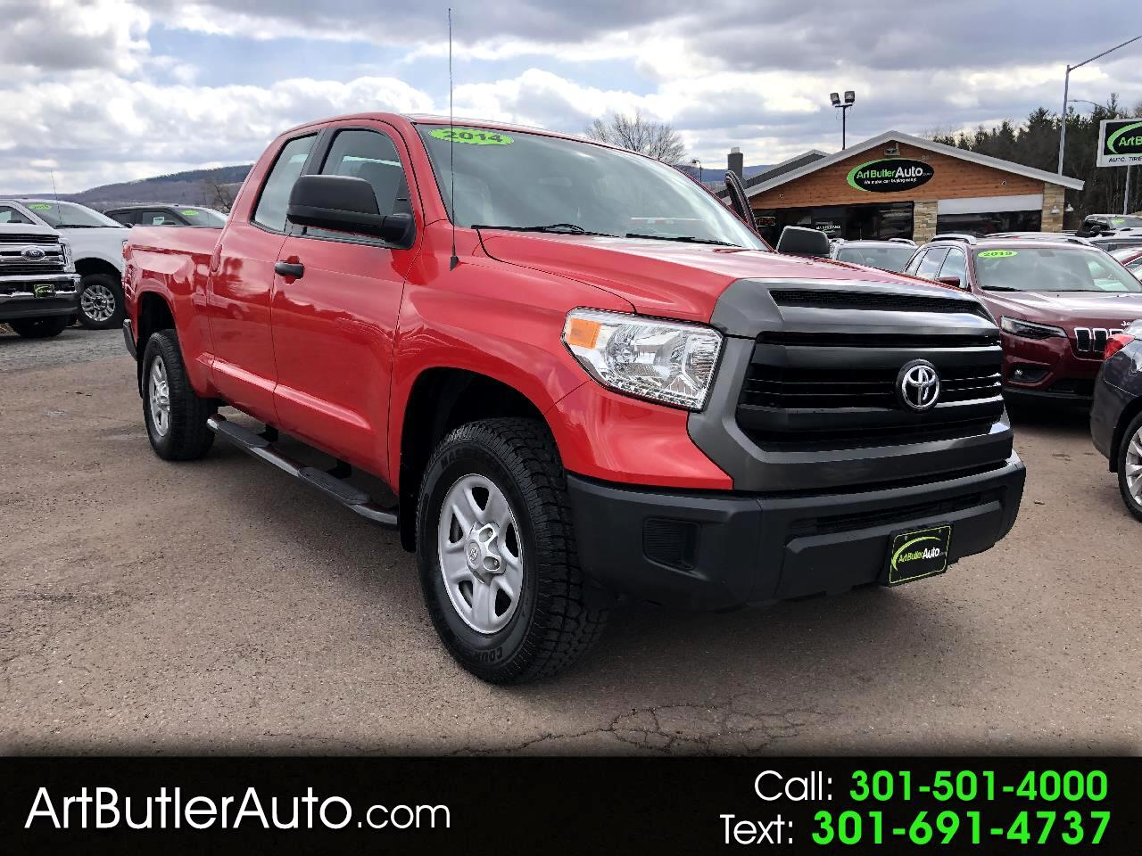 2014 Toyota Tundra 4WD Truck Double Cab 4.6L V8 6-Spd AT SR5 (Natl)