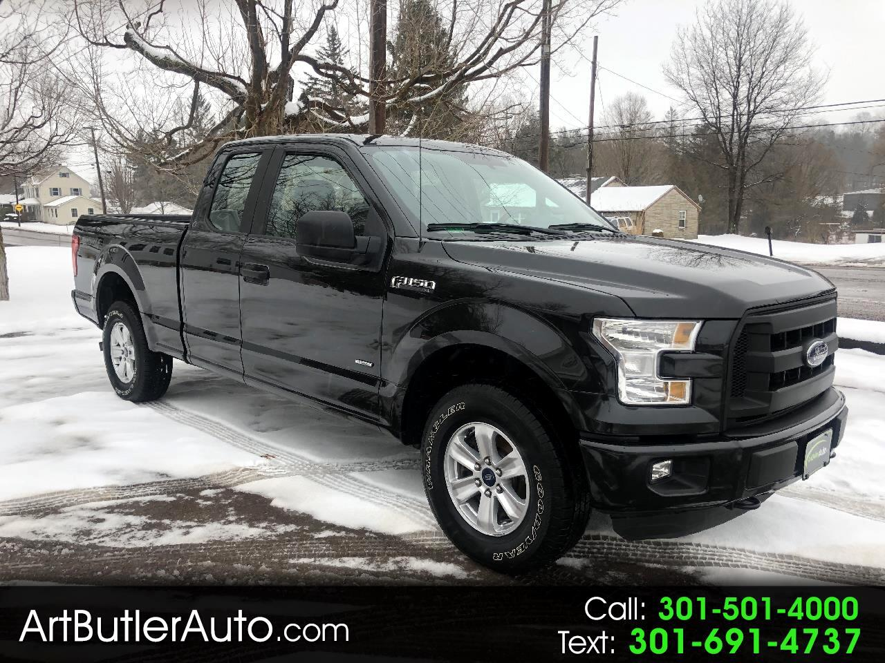 "2015 Ford F-150 4WD Supercab 145"" XL Sport"
