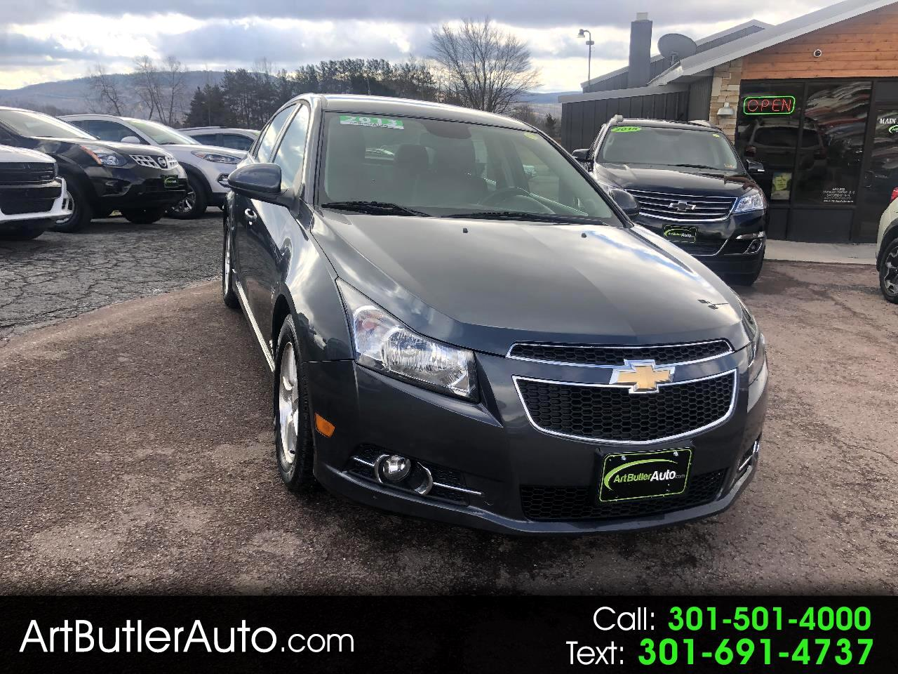 2013 Chevrolet Cruze 4 Dr Sdn Auto 1 LT RS