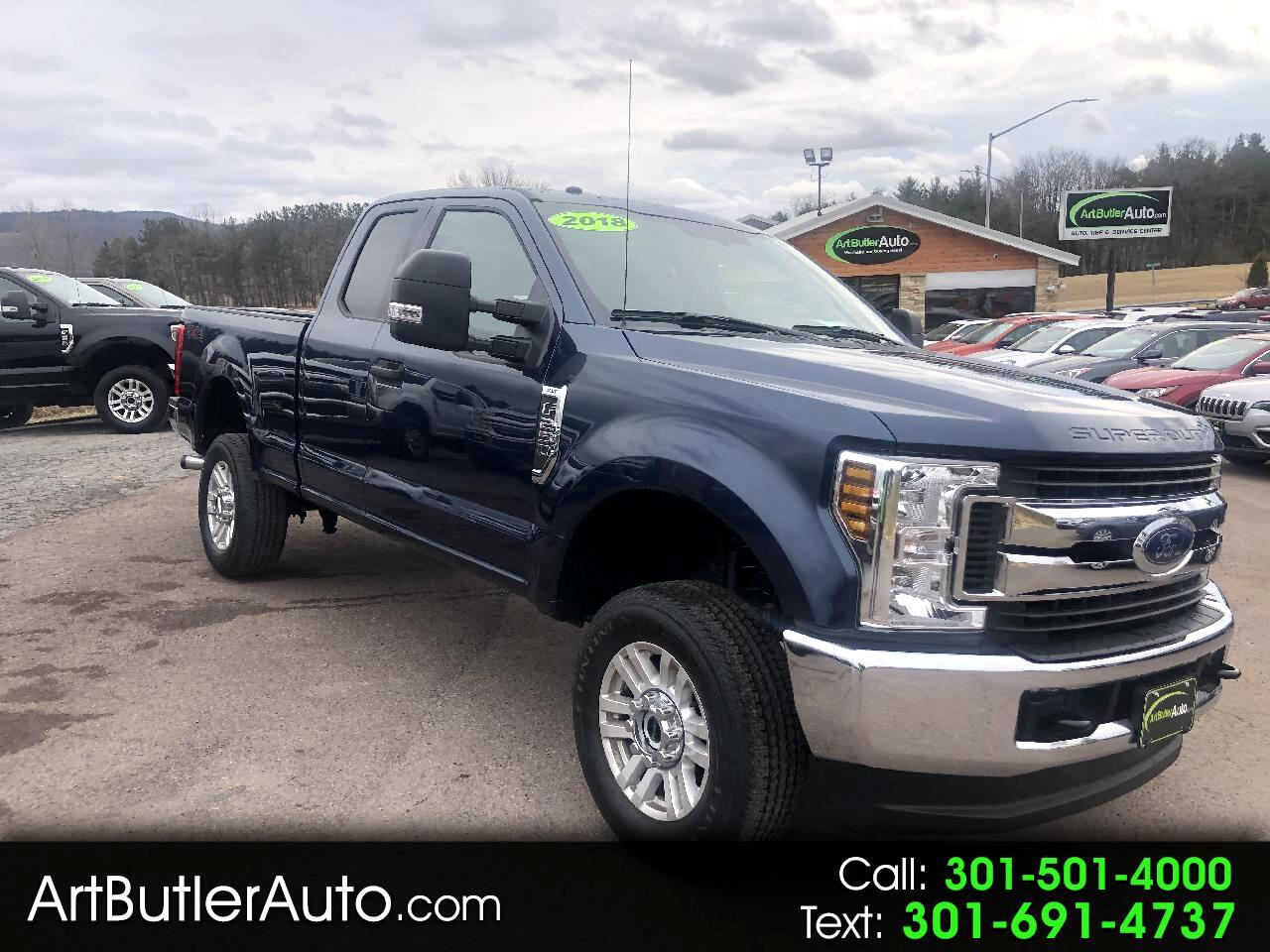 2018 Ford Super Duty F-250 SRW XLT 4WD SuperCab 6.75' Box