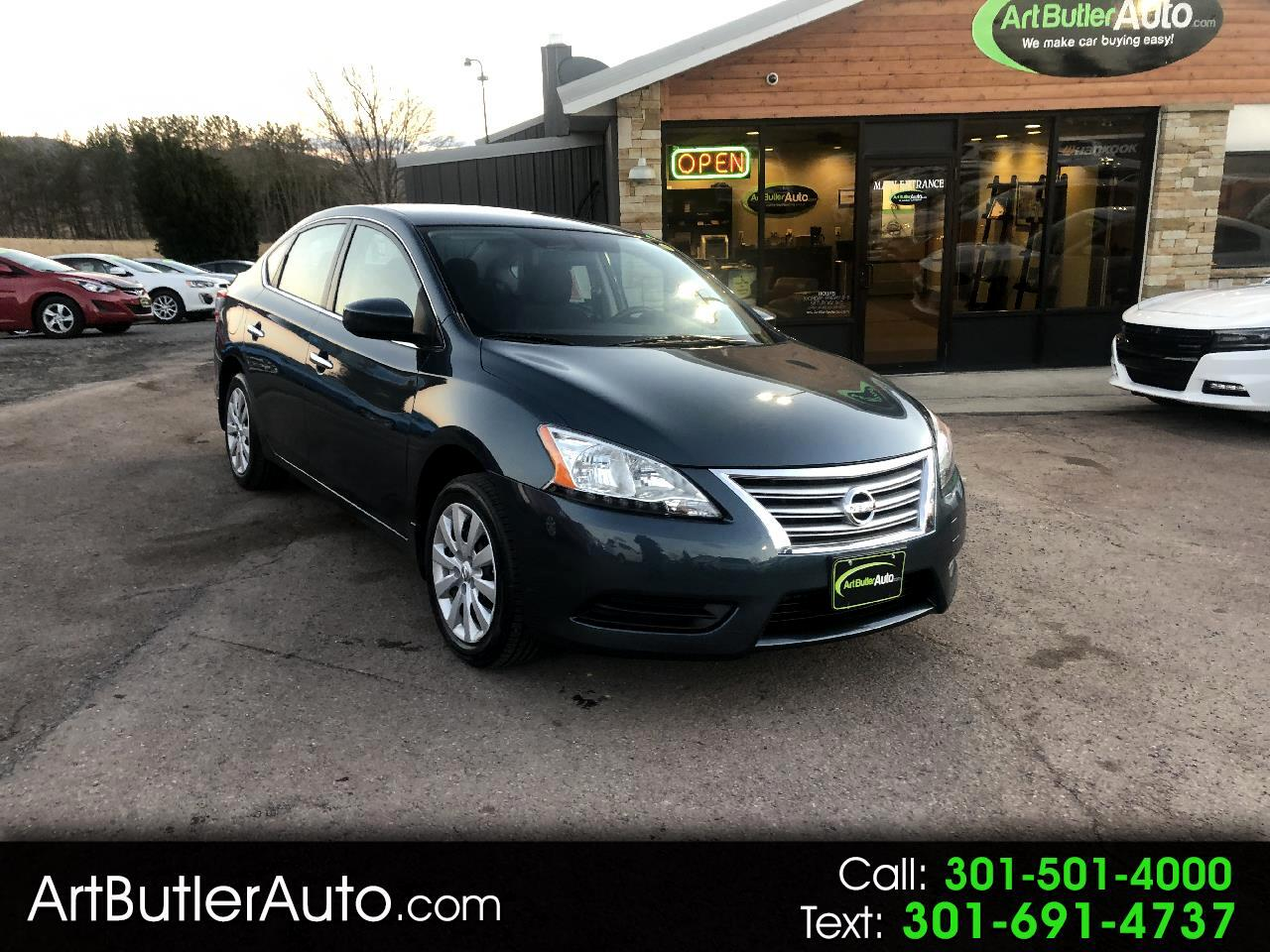 Used 2015 Nissan Sentra 4dr Sdn I4 CVT SV for Sale in Accident MD