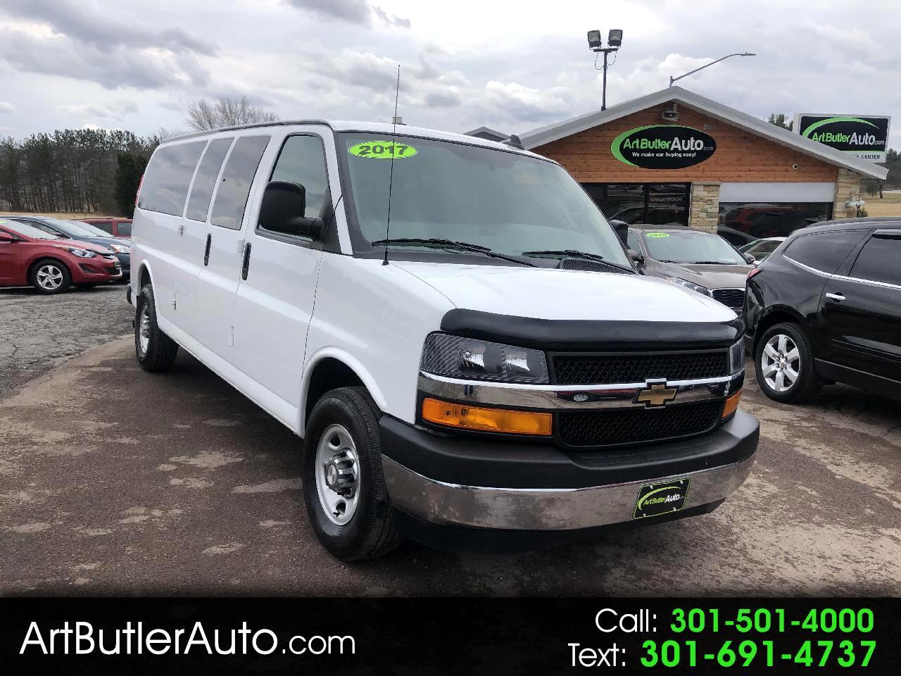 2017 Chevrolet Express Passenger RWD 3500 155