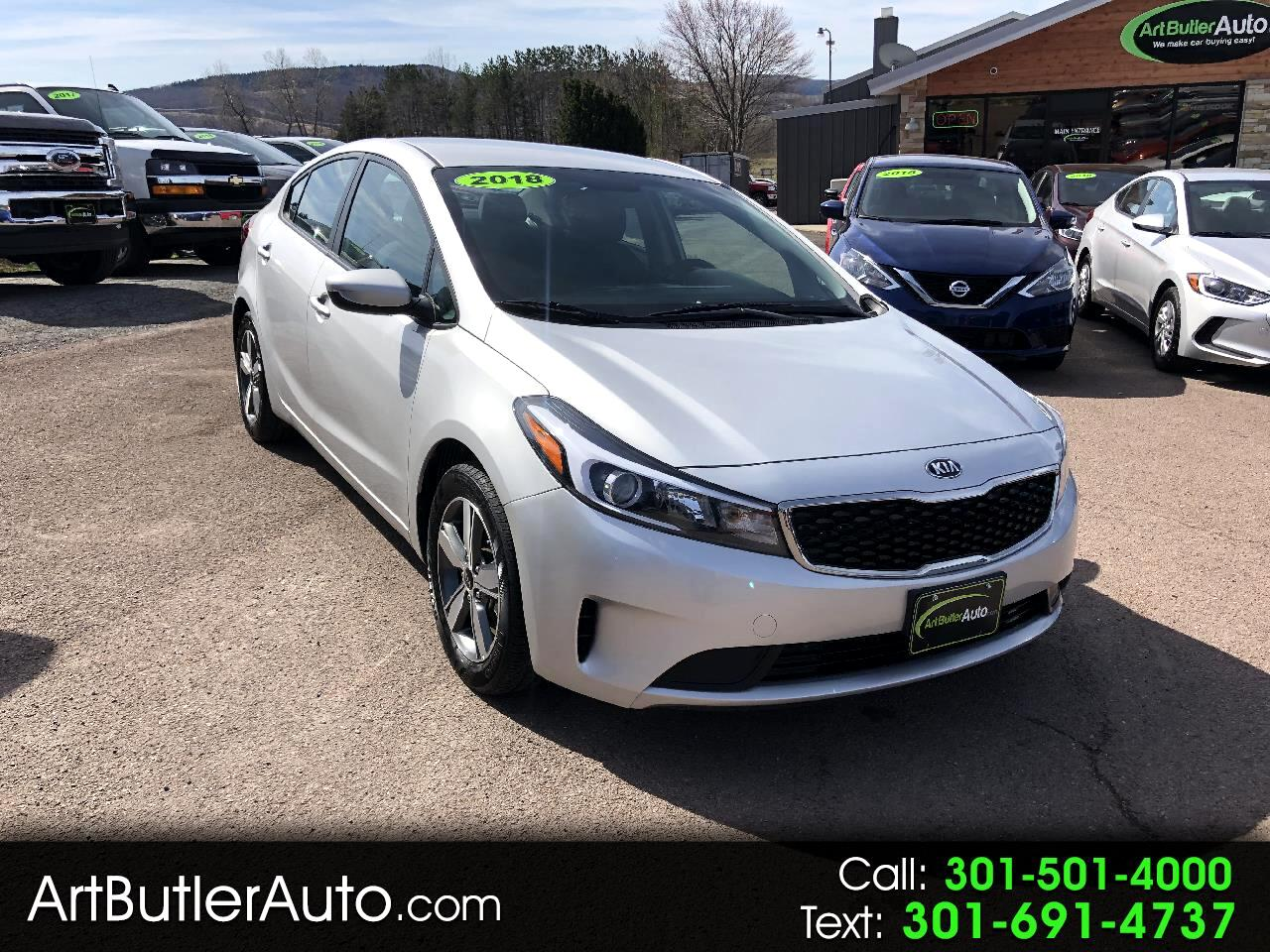 Used 2018 Kia Forte LX Auto for Sale in Accident MD 21520