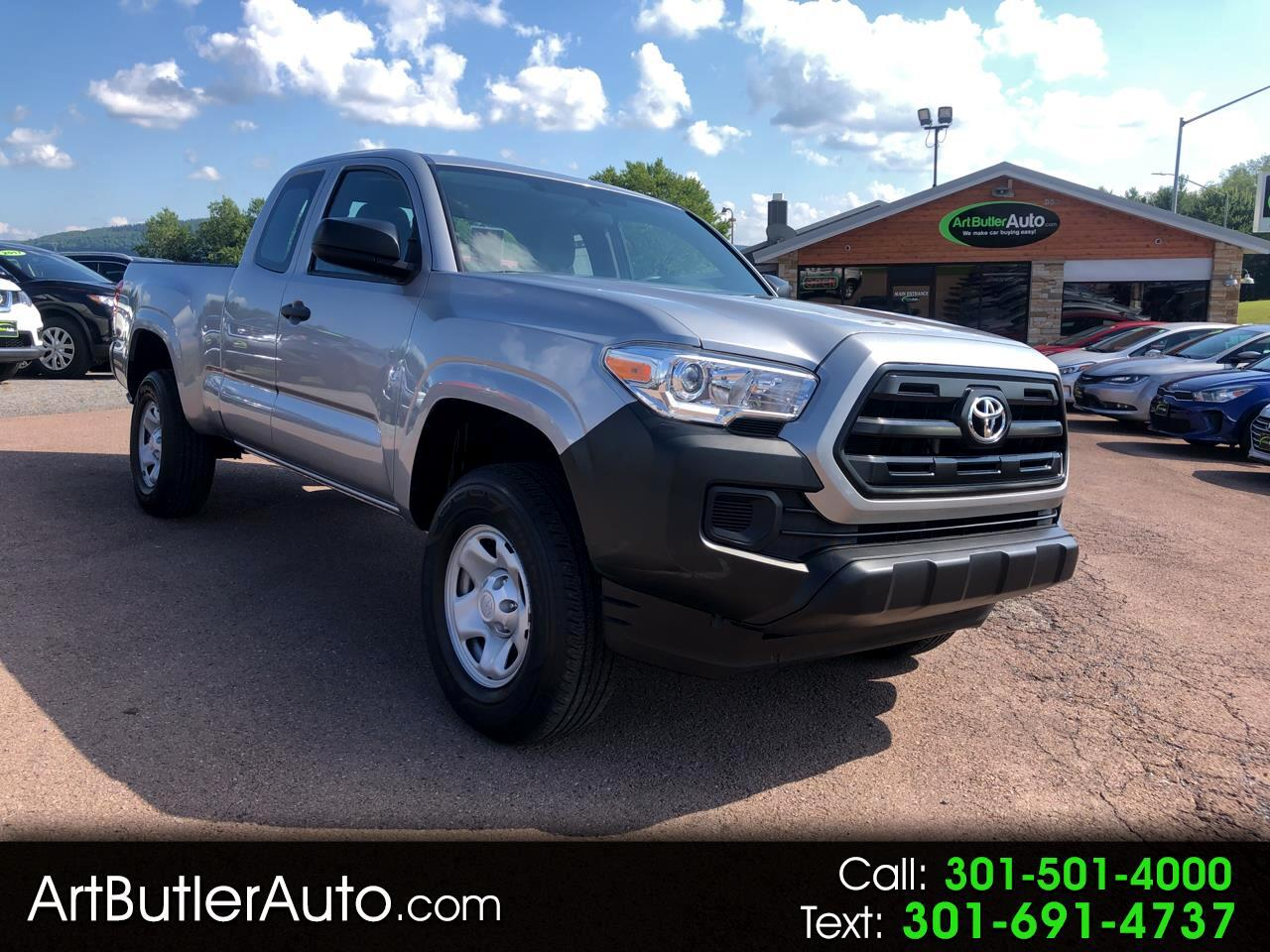 2017 Toyota Tacoma SR Access Cab 6' Bed I4 4x4 AT (Natl)
