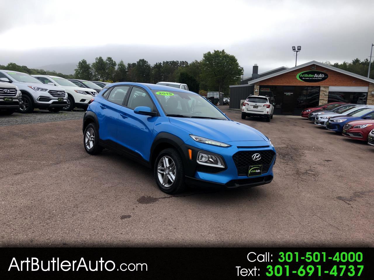 2019 Hyundai Kona SE Auto AWD