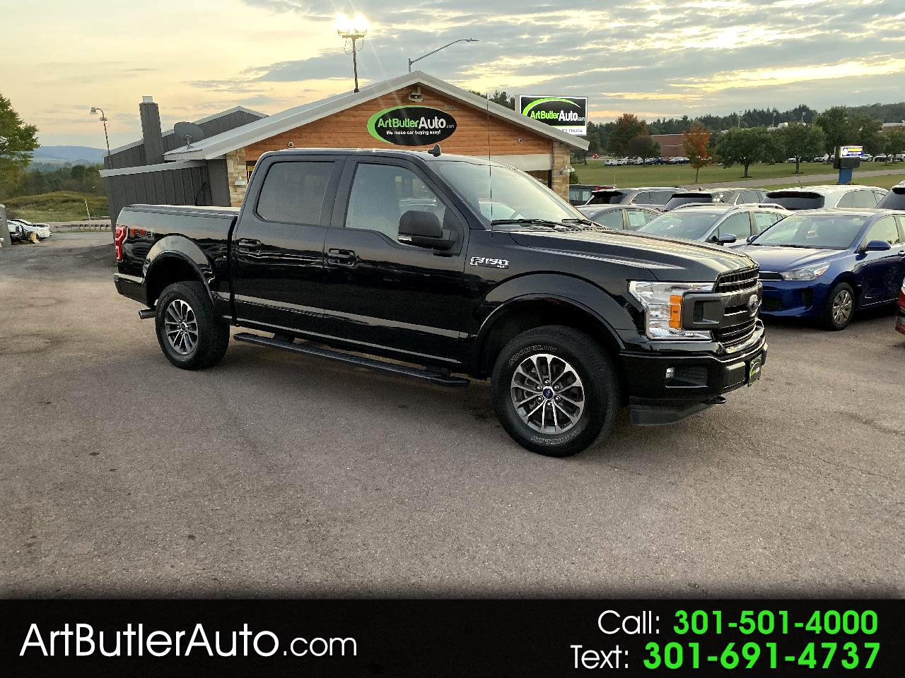 2018 Ford F-150 XLT 4WD SuperCrew FX4 5.5 Box