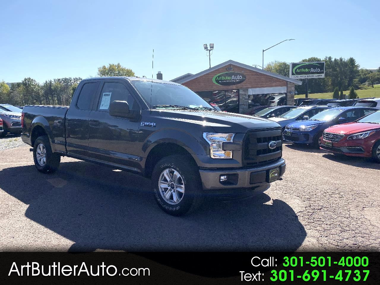 "2015 Ford F-150 4WD SuperCab 145 "" XL Sport"