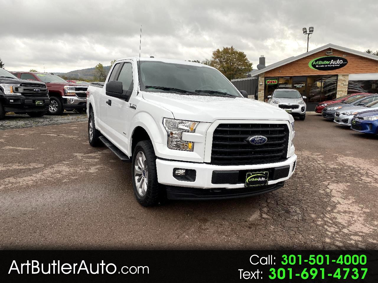"2017 Ford F-150 STX 4WD Super Cab 6'5 "" Box"