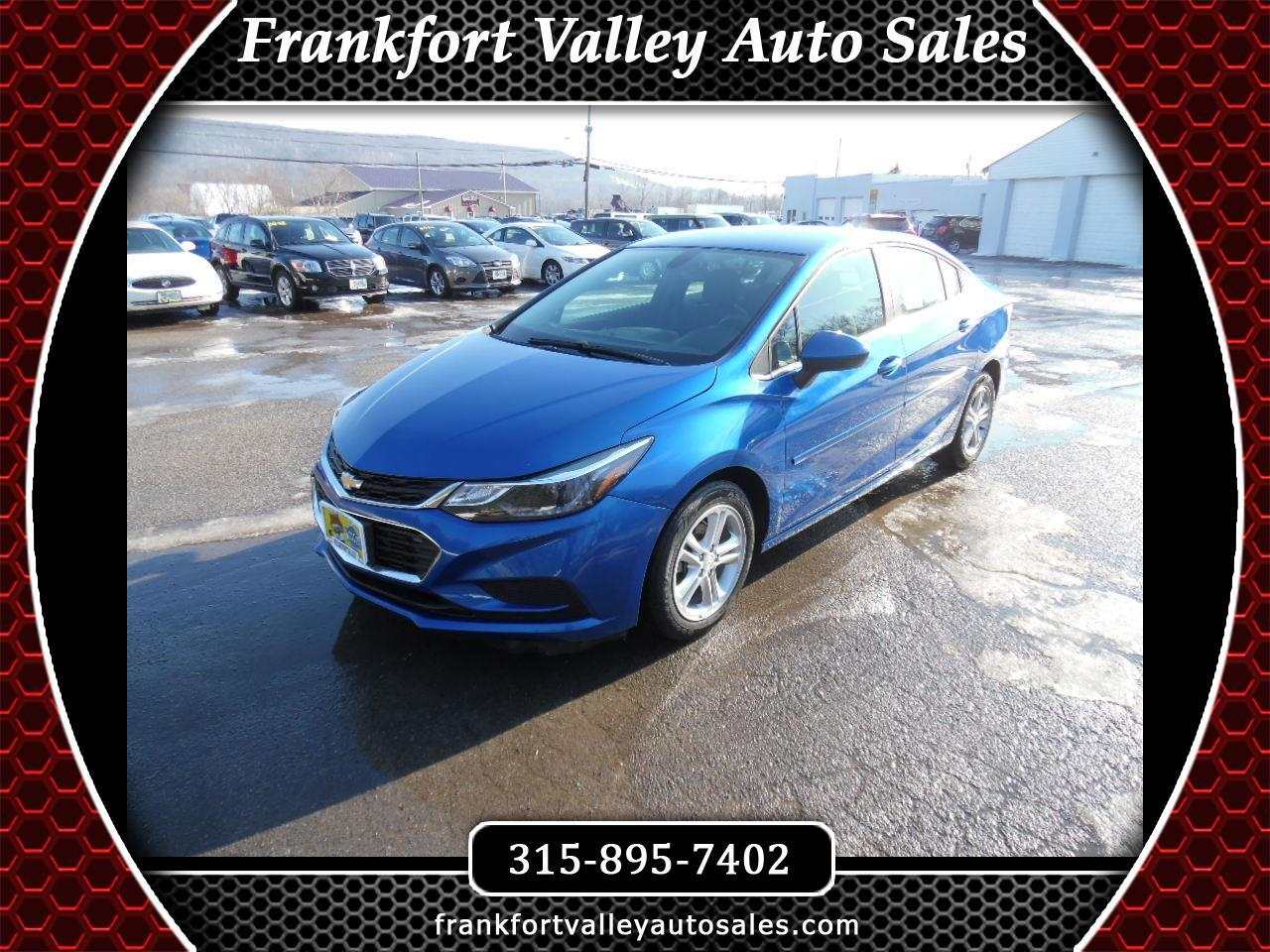 2017 Chevrolet Cruze 4dr Sdn 1.4L LT w/1SD