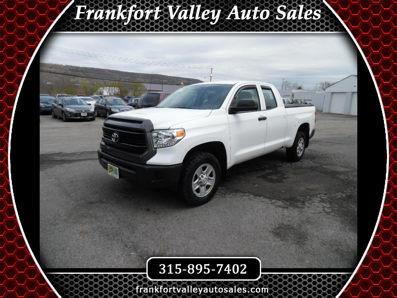 2016 Toyota Tundra 4WD Truck Double Cab 4.6L V8 6-Spd AT SR5 (Natl)