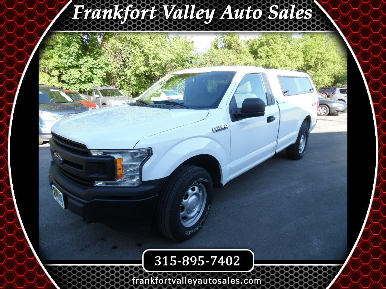 2018 Ford F-150 XLT 4WD Reg Cab 8' Box