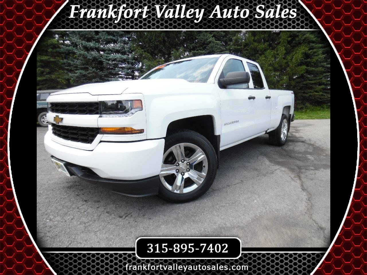 "2016 Chevrolet Silverado 1500 4WD Double Cab 143.5"" Custom"
