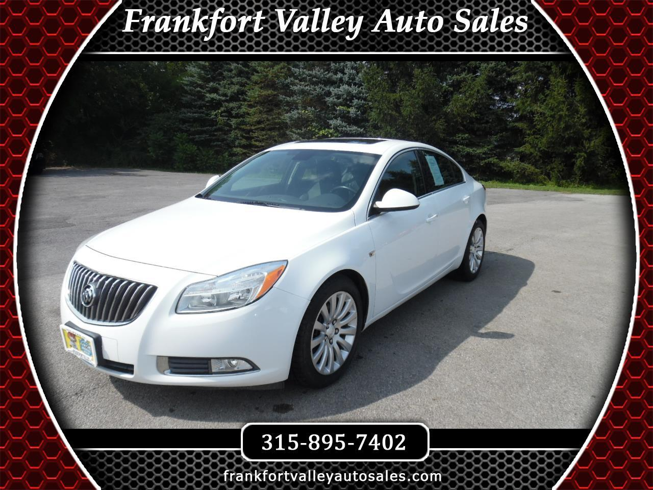 Buick Regal 4dr Sdn CXL Turbo TO2 (Russelsheim) *Ltd Avail* 2011