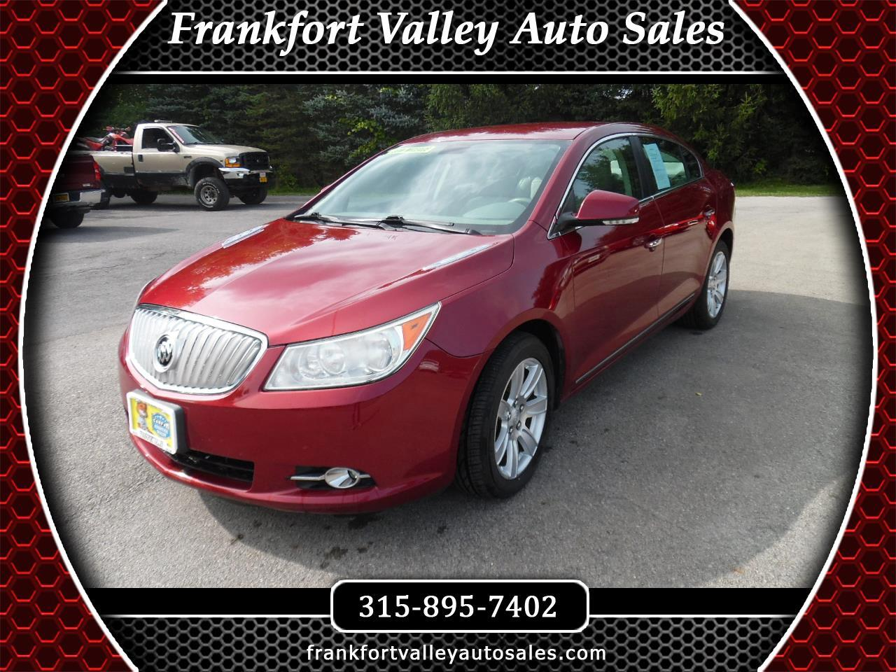 Buick LaCrosse 4dr Sdn CXL AWD 2011