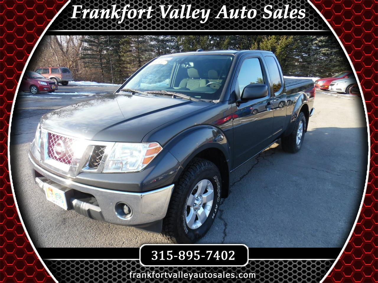 Nissan Frontier 4WD King Cab Auto SV 2011