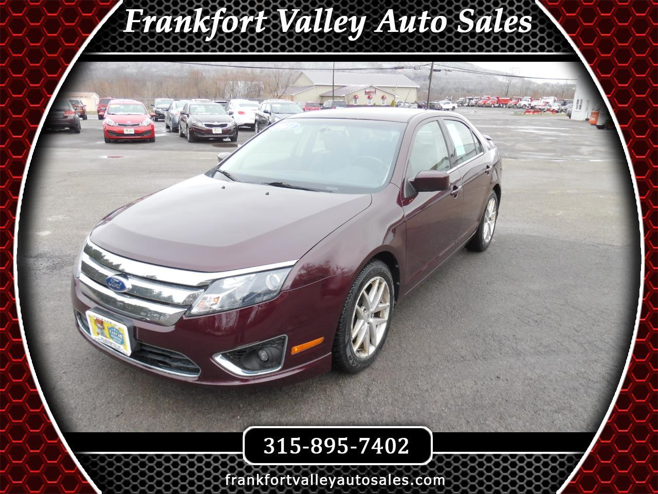 Ford Fusion 4dr Sdn SEL AWD 2011