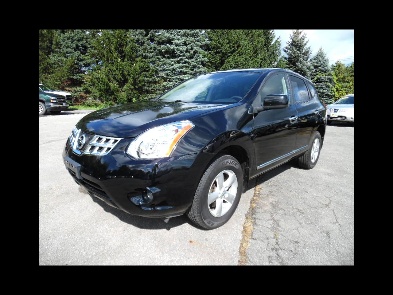 Nissan Rogue AWD 4dr S 2013