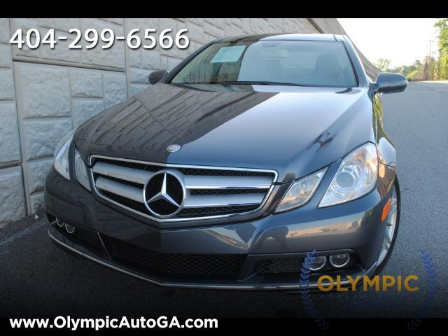 2010 Mercedes-Benz E350 Coupe 2dr Sport Coupe