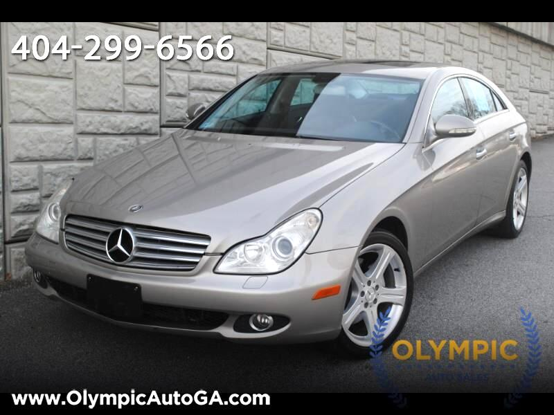 2006 Mercedes-Benz CLS-Class CLS500 4-Door Coupe