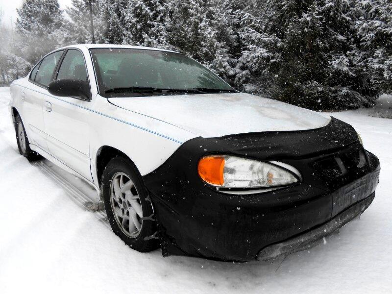 2003 Pontiac Grand Am SE1 sedan