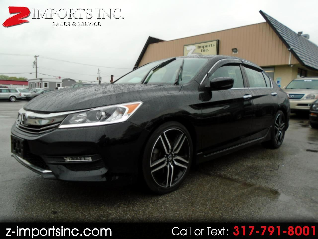 2016 Honda Accord Sport Sedan 6-Spd MT