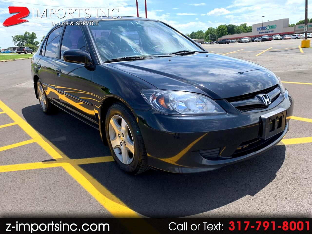 2004 Honda Civic EX Sedan AT with Front Side Airbags