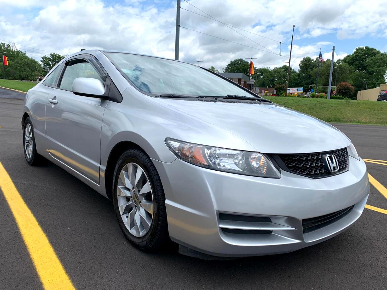 2010 Honda Civic EX-L Coupe 5-Speed AT