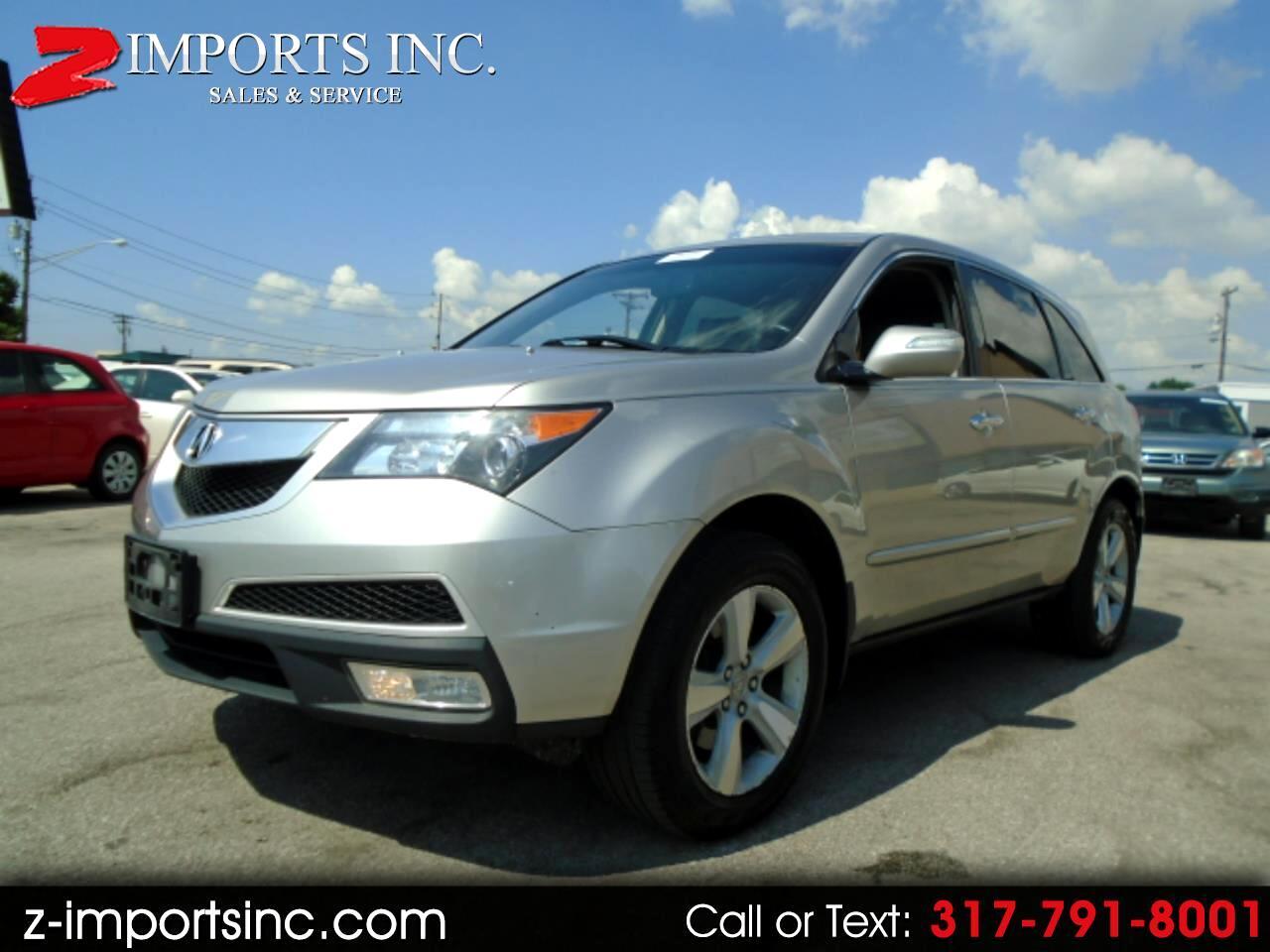 2010 Acura MDX 6-Spd AT