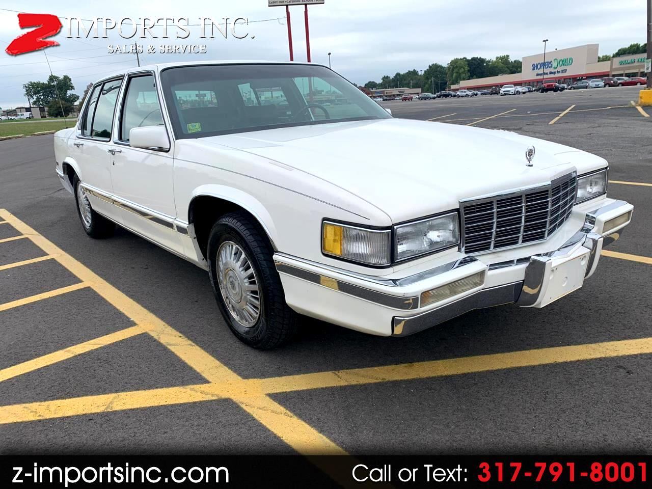 1991 Cadillac DeVille Sedan