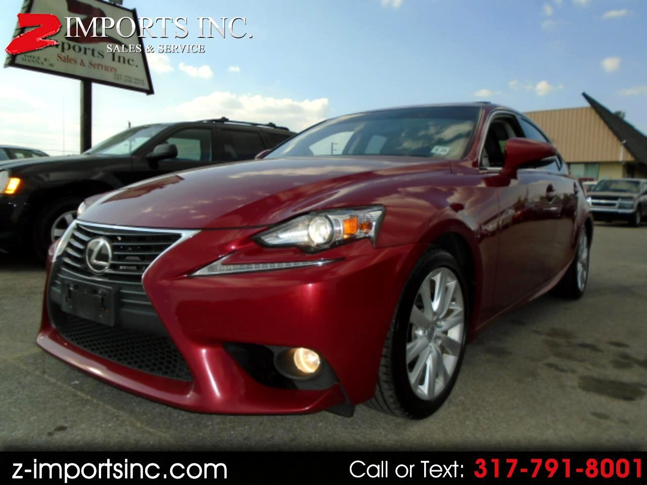 Lexus IS 250 RWD 2014
