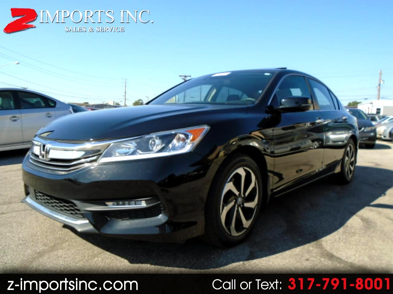 2016 Honda Accord EX Sedan CVT w/ Honda Sensing