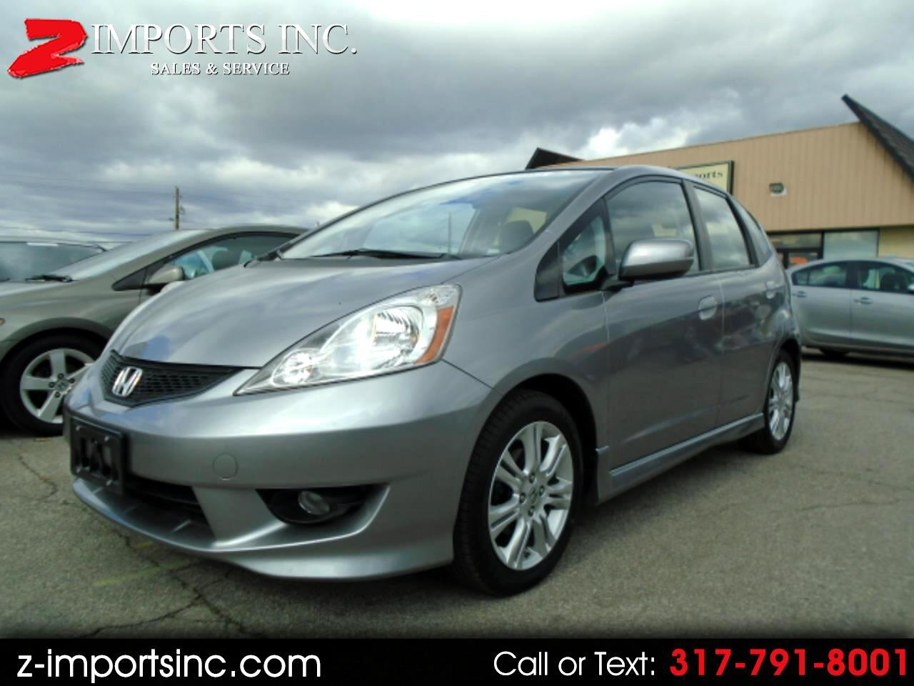 Honda Fit Sport 5-Speed MT 2009