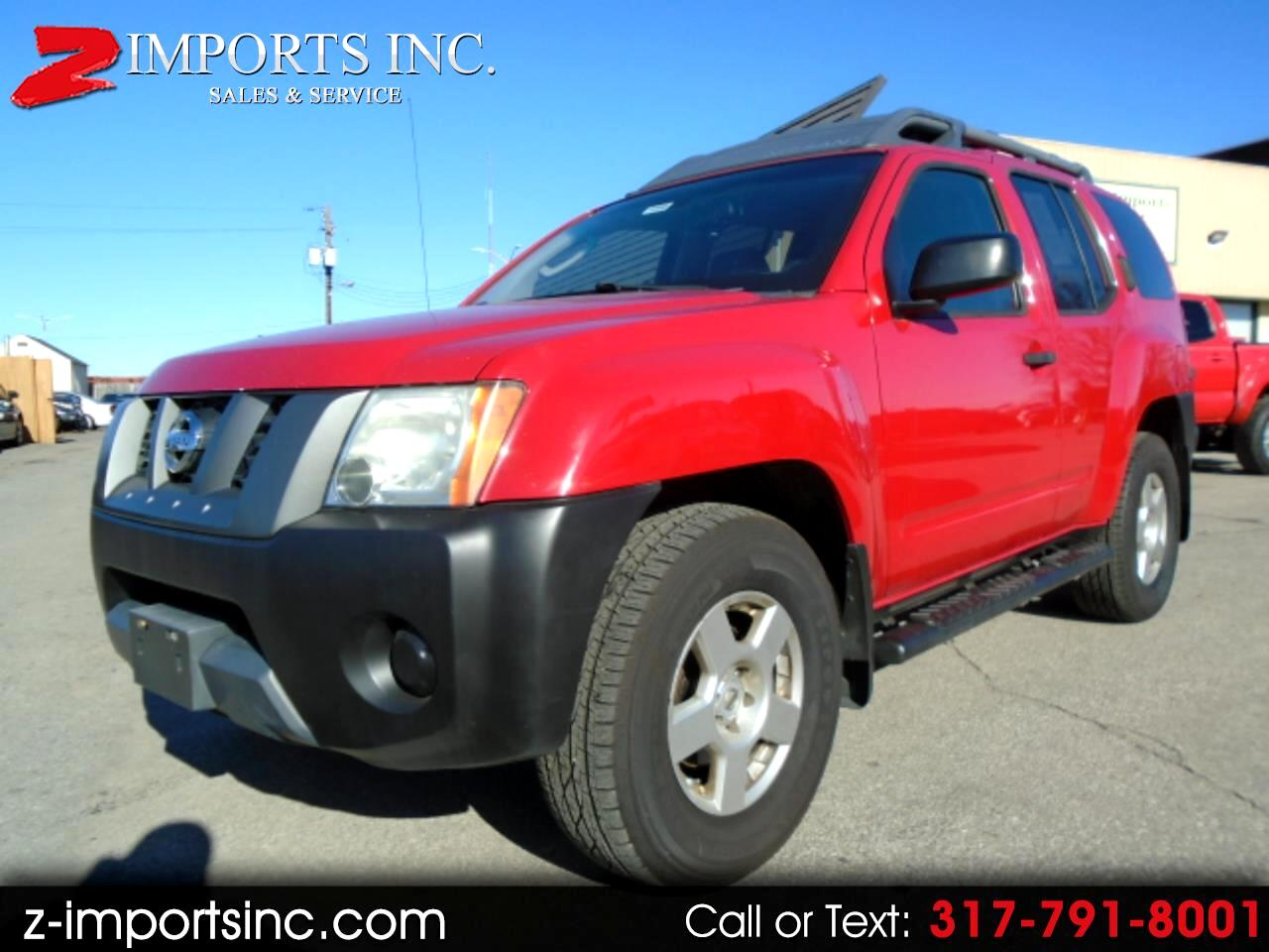 Nissan Xterra OR 4WD 2008