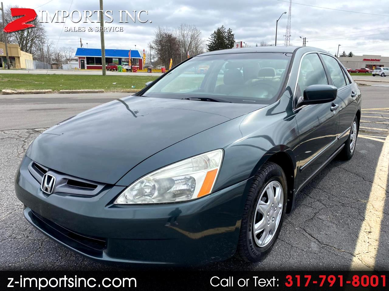 Honda Accord LX Sedan AT with Front Side Airbags 2004
