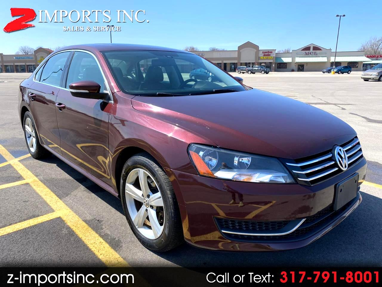 Volkswagen Passat 2.5L SE AT 2013