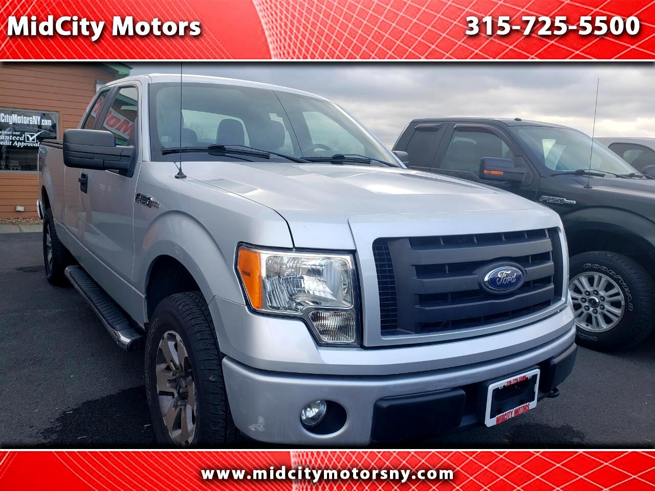 "Ford F-150 Supercab 133"" STX 4WD 2012"